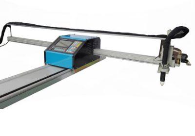 портативный станок для резки плазменной резки / плазменной резки стальной 8 мм станка для резки металла cnc для латунной меди