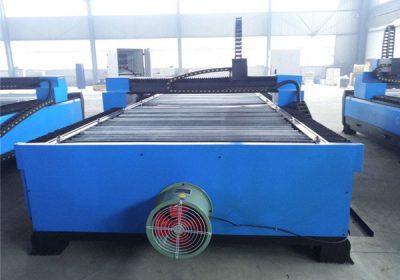 Плазменная резка листовая сталь CNC Table Plasma Cutting Machine