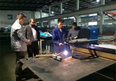 Китайский поставщик CNC портальный тип плазменной резки