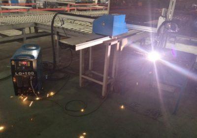 Станок для плазменной резки и сверления с ЧПУ для листового железа разрезает металлические материалы, такие как железная медная нержавеющая листовая сталь